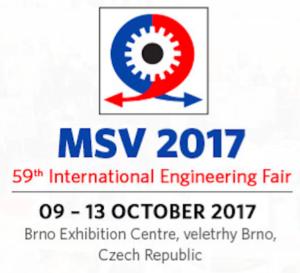 9.-13. října 2017 Mezinárodní Strojírenský Veletrh Brno