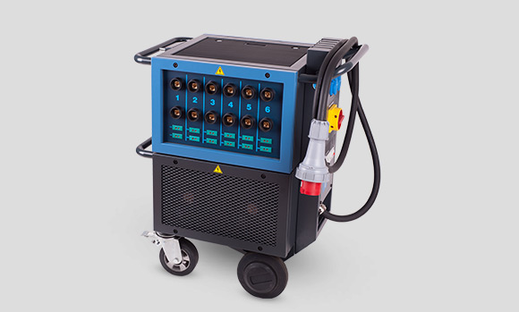 Portable machines for heat treatment
